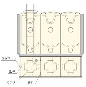 下部ポンプ室